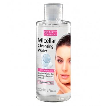 Beauty Formulas - Agua Micelar Limpiadora - Pieles Sensibles