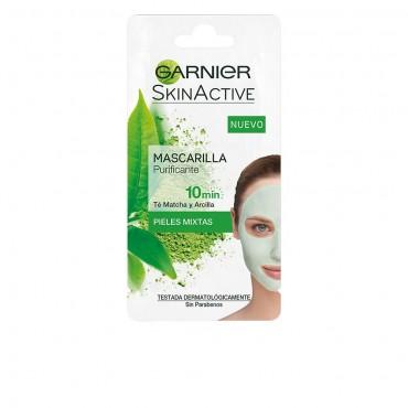 skinactive rescue mask purificante té matcha y arcilla
