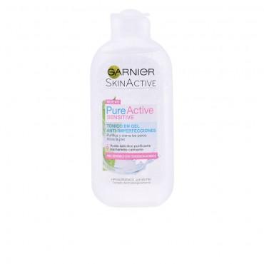 pure active tónico facial piel sensible 200 ml
