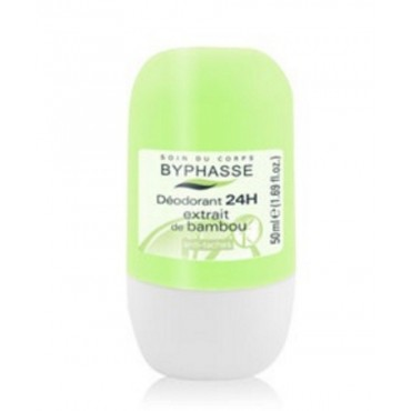 Byphasse - Desodorante Roll-on 24hrs Bambu 50ml