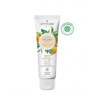 Attitude - Crema corporal Super Leaves - Energizante con hojas de Naranja