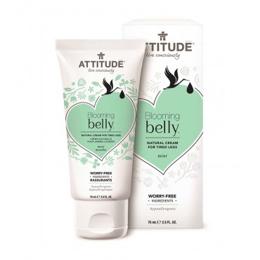 Attitude - Crema para piernas cansadas Blooming Belly