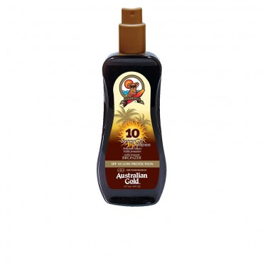 sunscreen spf10 spray gel with instant bronzer 237 ml