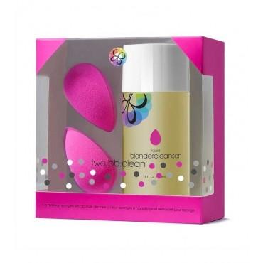 BeautyBlender - two.bb.clean - Kit 2 Esponjas y Limpiador Líquido 150ml