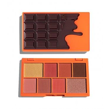I Heart Revolution - Paleta de Sombras de ojos Chocolate Mini - Nudes