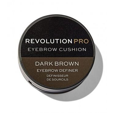 Revolution Pro - Tinte para cejas Cushion - Dark Brown