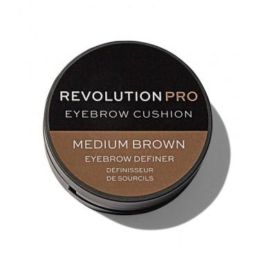 Revolution Pro - Tinte para cejas Cushion - Medium Brown