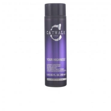 TIGI - CATWALK your highness elevating acondicionador nutritivo que aporta volumen. 250 ml