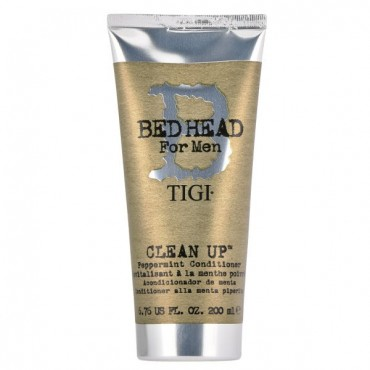 TIGI - BED HEAD FOR MEN clean up peppermint acondicionador con extracto de ginseng y menta 200 ml