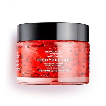 Revolution Skincare - Mascarilla hidratante x Jake-Jamie Feed your face - Sandía