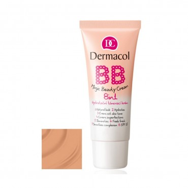 Dermacol - BB Cream Magic Beauty 8 en 1 - 04: Sand