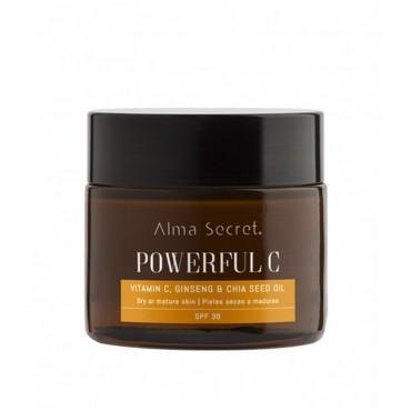 Alma Secret - Powerfull C con Vitamina C, Ginseng & Chía - SPF30