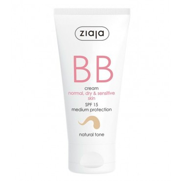Ziaja - BB Cream - Pieles Normales, Secas y Sensibles - Natural