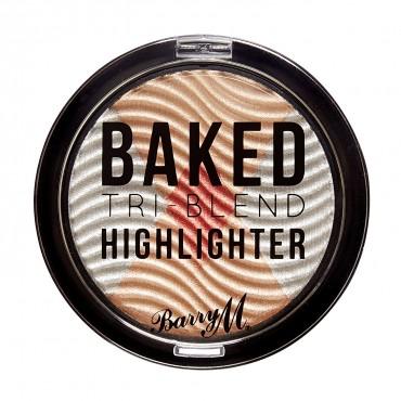 Barry M - Iluminador - Baked Tri-Blend - Silver Solstice