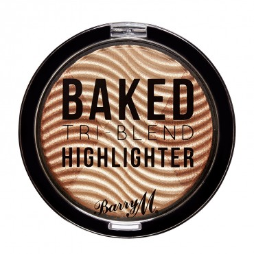 Barry M - Iluminador - Baked Tri-Blend - Bronze Deco