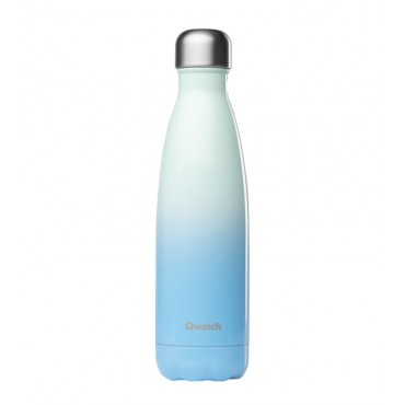 Qwetch - Botella Isotérmica Acero Inoxidable 500ml - Azul Cielo
