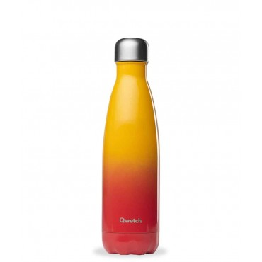 Qwetch - Botella Isotérmica Acero Inoxidable 500ml - Sunset