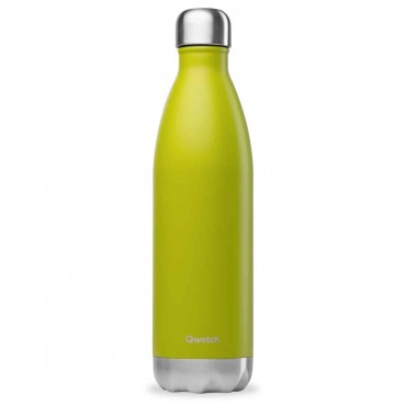 Qwetch - Botella Isotérmica Acero Inoxidable 500ml - Verde