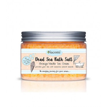 Nacomi - Sales de Baño del Mar Muerto - Orange-Vanilla Ice