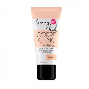 Bell - Base de Maquillaje Creamy Touch Correcting - 01: Nude