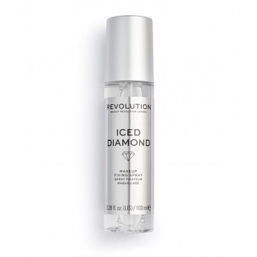 Revolution - *Precious Stone* - Spray fijador de maquillaje - Iced Diamond