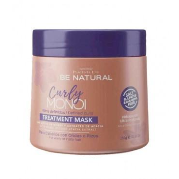 Be Natural - Curly Monoi - Mascarilla Intensiva Cabello Rizado/Ondas - 350gr