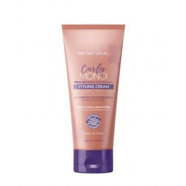Be Natural - Curly Monoi - Crema Rizos Definidos Cabello Rizado/Ondas - 200ml