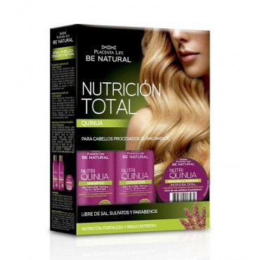 Be Natural - Nutri Quinua - Kit Tratamiento nutrición total