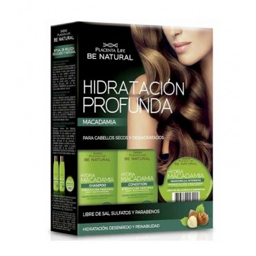 Be Natural - Hydra Macadamia - Kit Tratamiento hidratación profunda