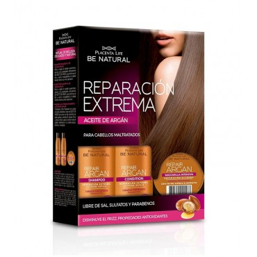 Be Natural - Repair Argan - Kit Tratamiento Reparación Total