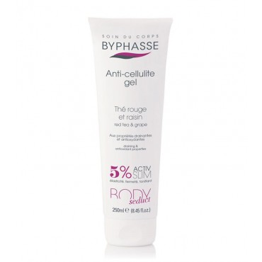 Byphasse - Gel Anticelulitico Te Rojo y Uva 250ml