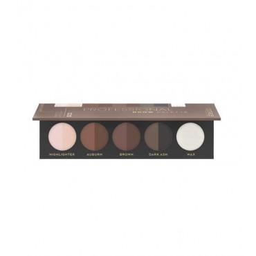 Catrice - Paleta para cejas Professional - 020: Medium to dark