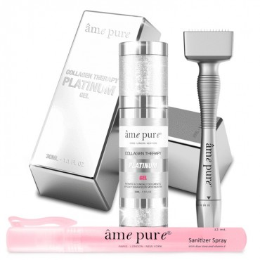 Ame Pure - Platinum Kit - Derma Stamp Ajustable - 0.00 a 1.00mm