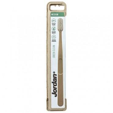 Jordan - Cepillo dental Ecofrendly Green Clean  - Medio