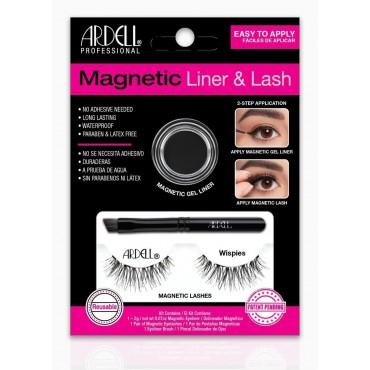 Ardell -  Magnetic - Kit de pestañas Magnéticas & Liner - Wispies