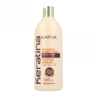 Kativa - Champú con Aceite de Coco Orgánico 500ml