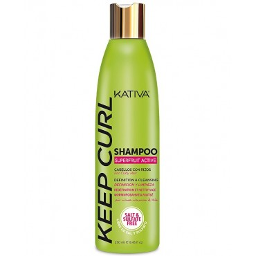 Kativa - Keep Curl - Champú para Rizos - 250 ml