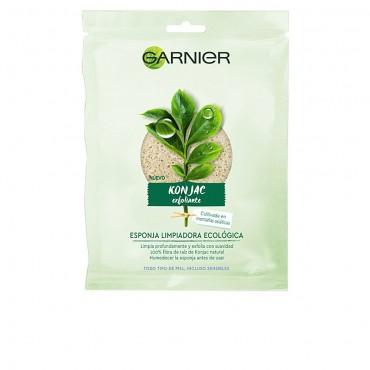 Garnier - BIO ECOCERT - Esponja exfoliante-limpiadora ecológica