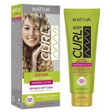 Kativa - Keep Curl - Crema Peinado Rizos - 200ml