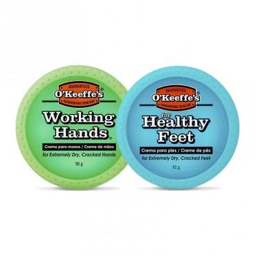 O'Keeffe's - Pack (x2) - Crema de Pies + Crema de Manos