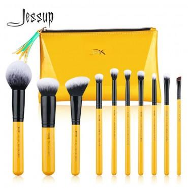 Jessup Beauty - Set de brochas 10 piezas - T276: Citrus Collection