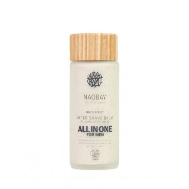 Naobay - Bálsamo After Shave Hombre - All in One - 100ml