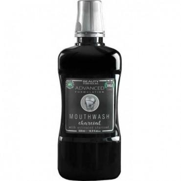 Beauty Formulas - Carbón activo- Enjuague bucal - 500ml