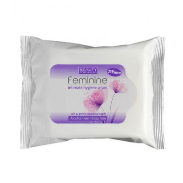 Beauty Formulas - Toallitas Íntimas - 20 uds