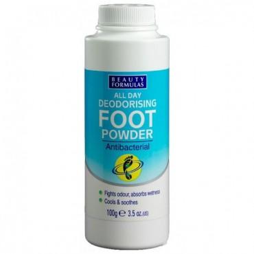 Beauty Formulas - Desodorante antibacterial para pies - 100g