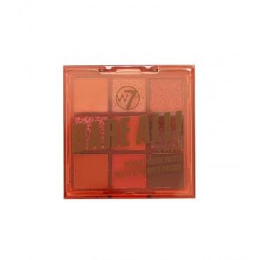 W7 - Paleta de pigmentos prensados Bare All - Raw