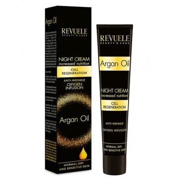 Revuele -  Argan Oil - Crema facial de noche - 50ml