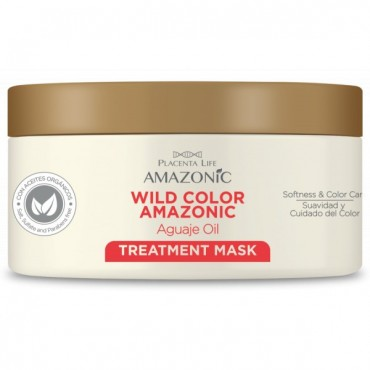 Be Natural - Wild Color Amazonic Mascarilla Capilar - 350gr