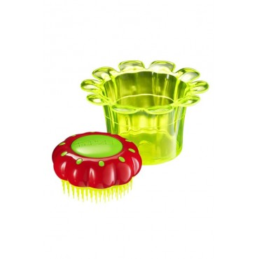 Tangle Teezer Nuevo FlowerPot - Cepillo niños especial para desenredar - Sunbeam