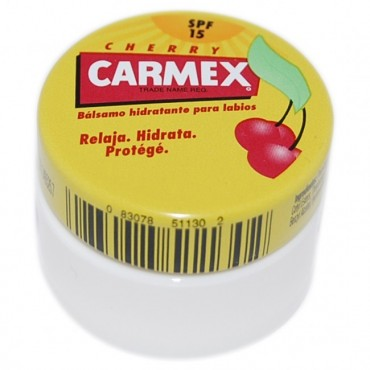 Carmex - Bálsamo labial Tarro - Cereza